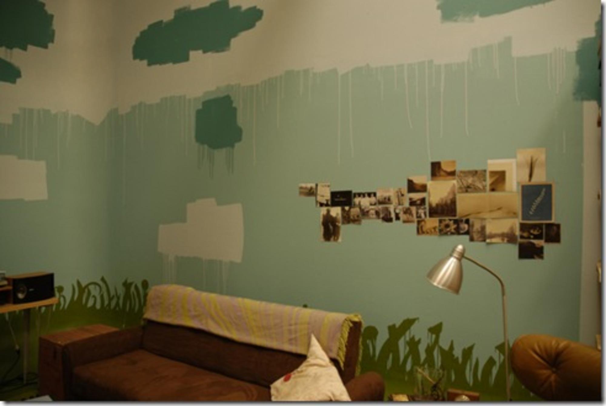 Paredes pintadas casa de valentina for Fotos paredes pintadas