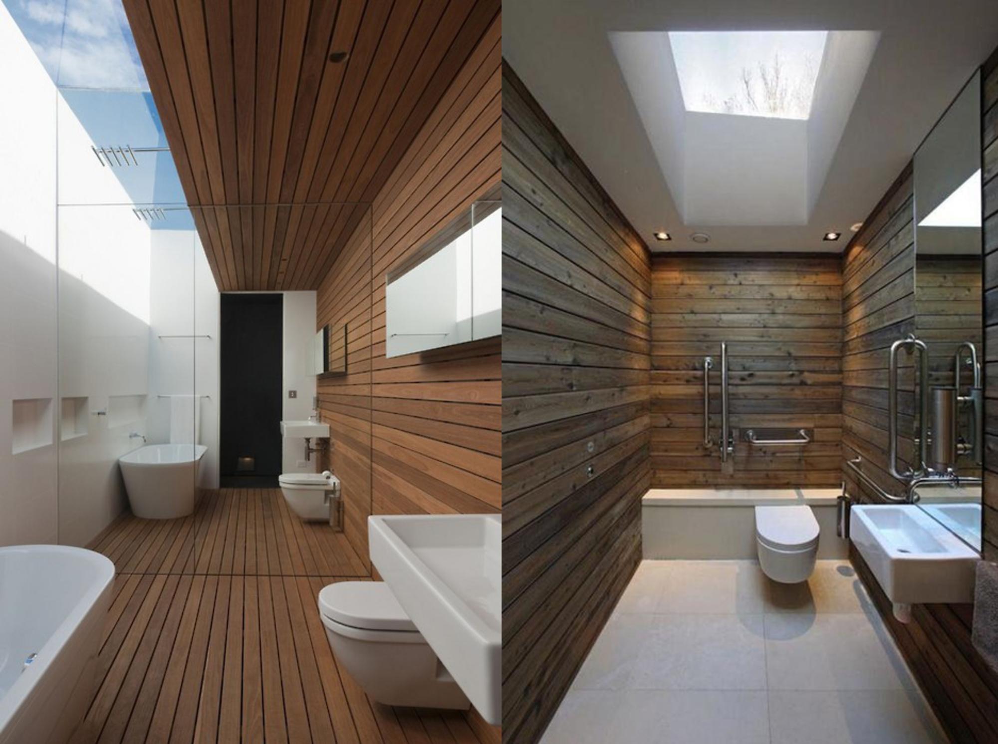 DECORAÇAO DE BANHEIROS COM MADEIRA  Casa de Valentina -> Decoracao Banheiro Madeira