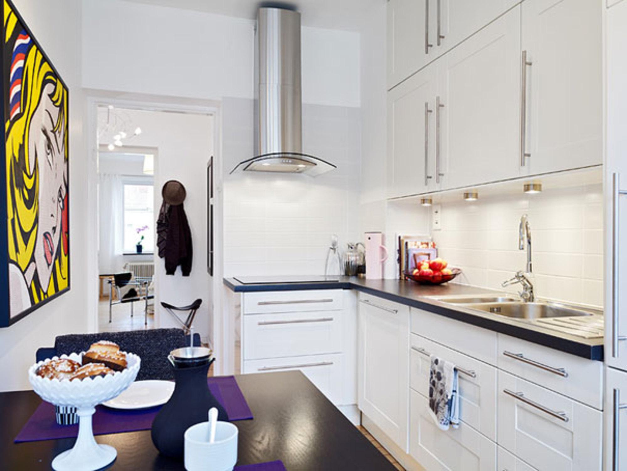 Decorando Apartamentos Pequenos Casa De Valentina -> Fotos De Cozinha Conceito Aberto