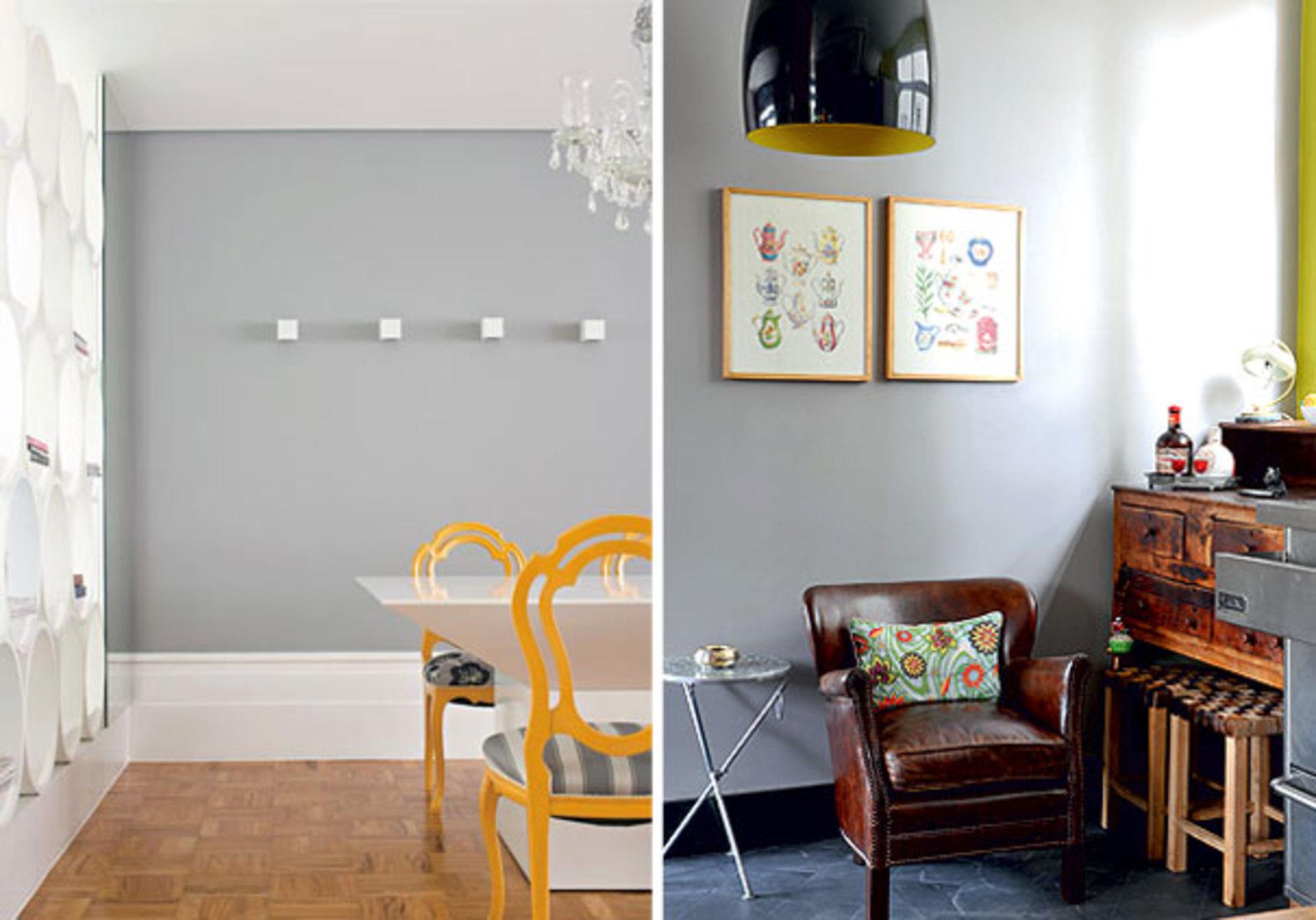 #A97122 Fotos: Casa Claudia Casa e Jardim Revista TPM e Trendland. 2000x1398 píxeis em Decoração De Sala De Jantar Com Parede Cinza
