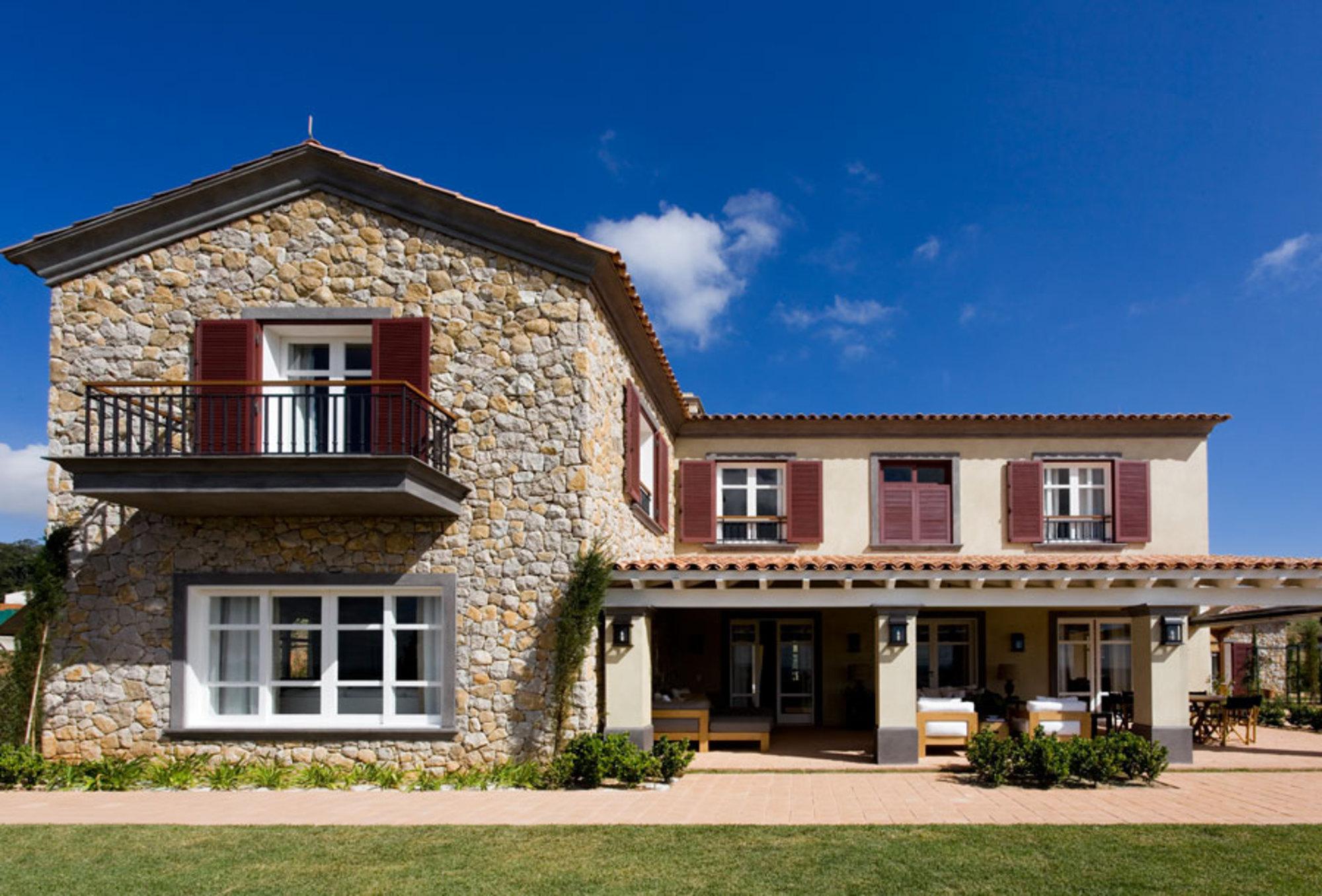 Inspira o proven al na fazenda casa de valentina for Fachada de casas modernas estilo oriental