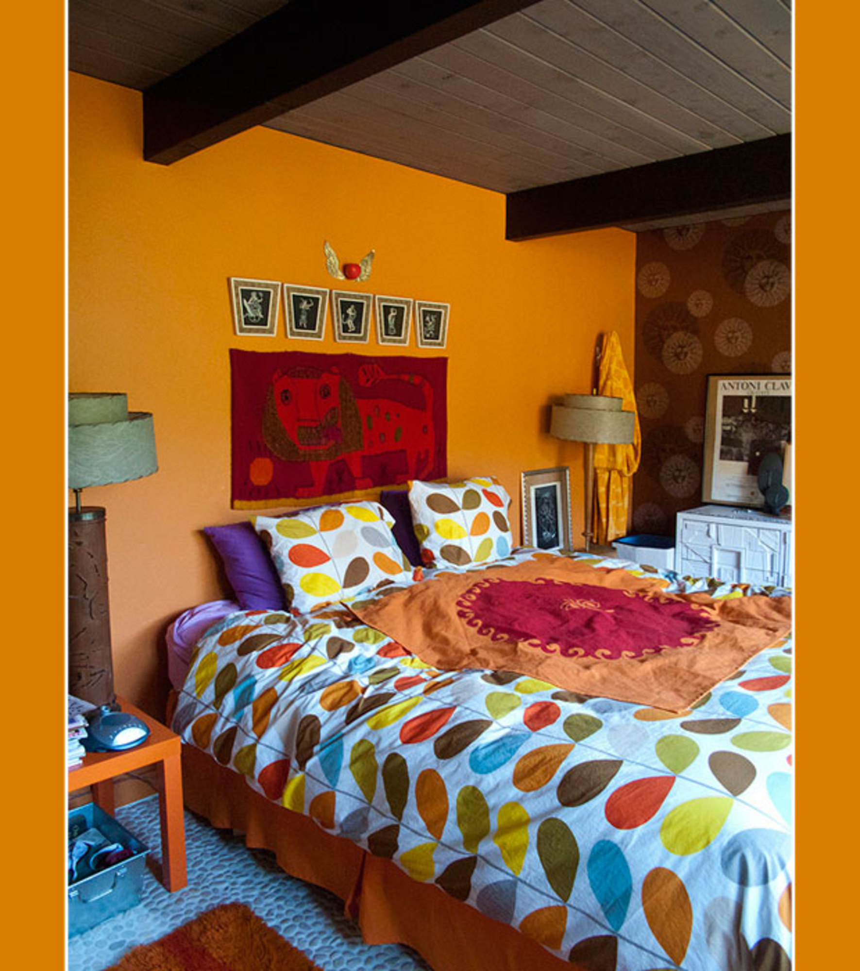 Casas hippies good casaestudio estilo hippie chic hombres for Decoracion piso hippie