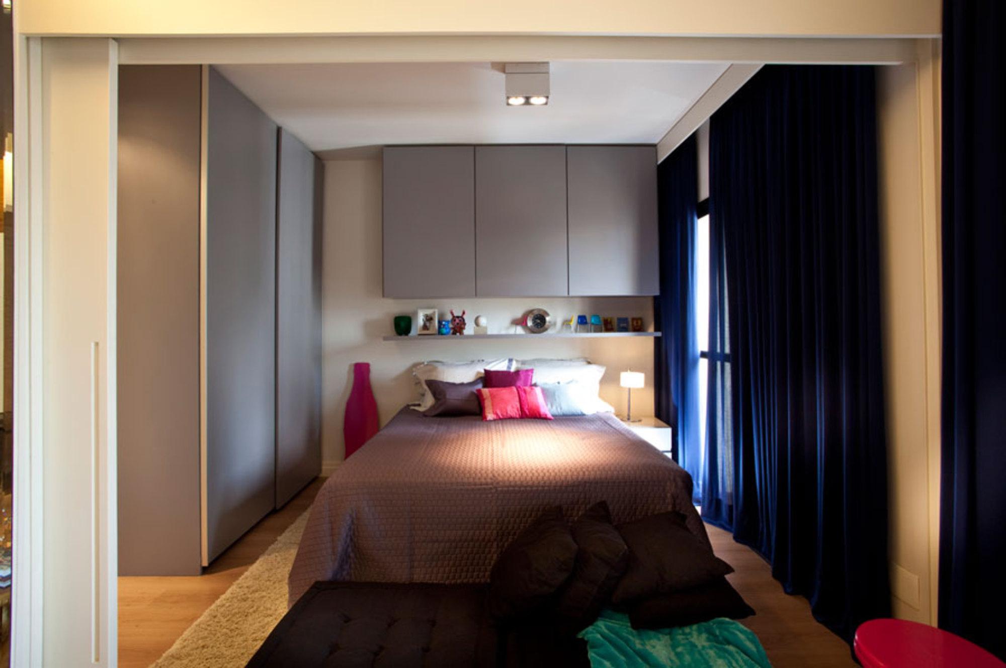 Дизайн двухкомнатной квартиры на 45 квадратных метров (фото).