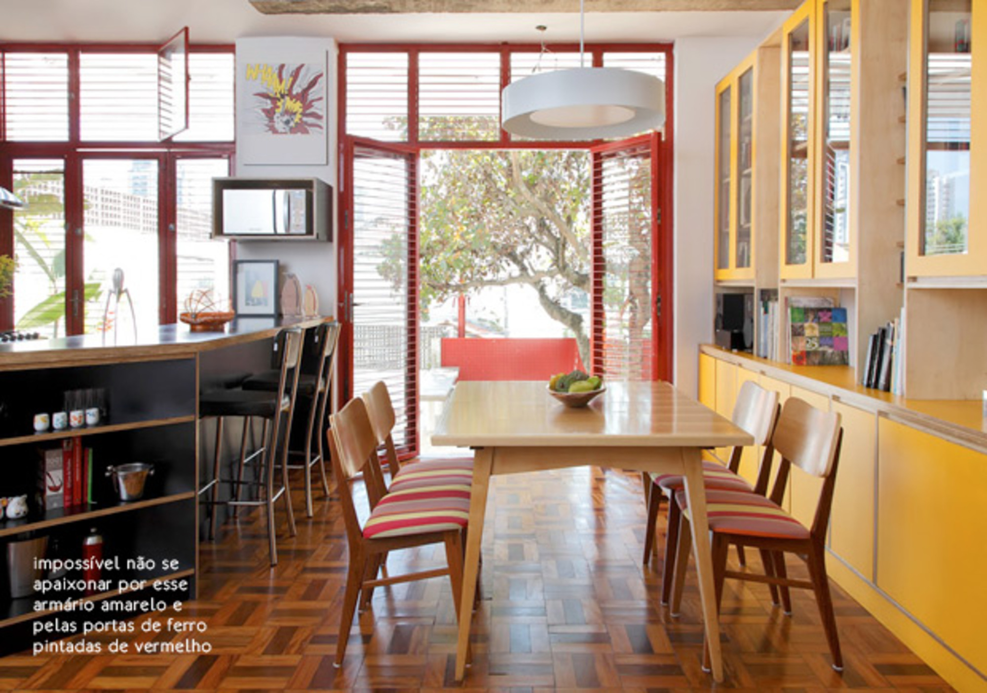 A Sala De Jantar Perfeita Casa De Valentina -> Cores Parede Sala Jantar