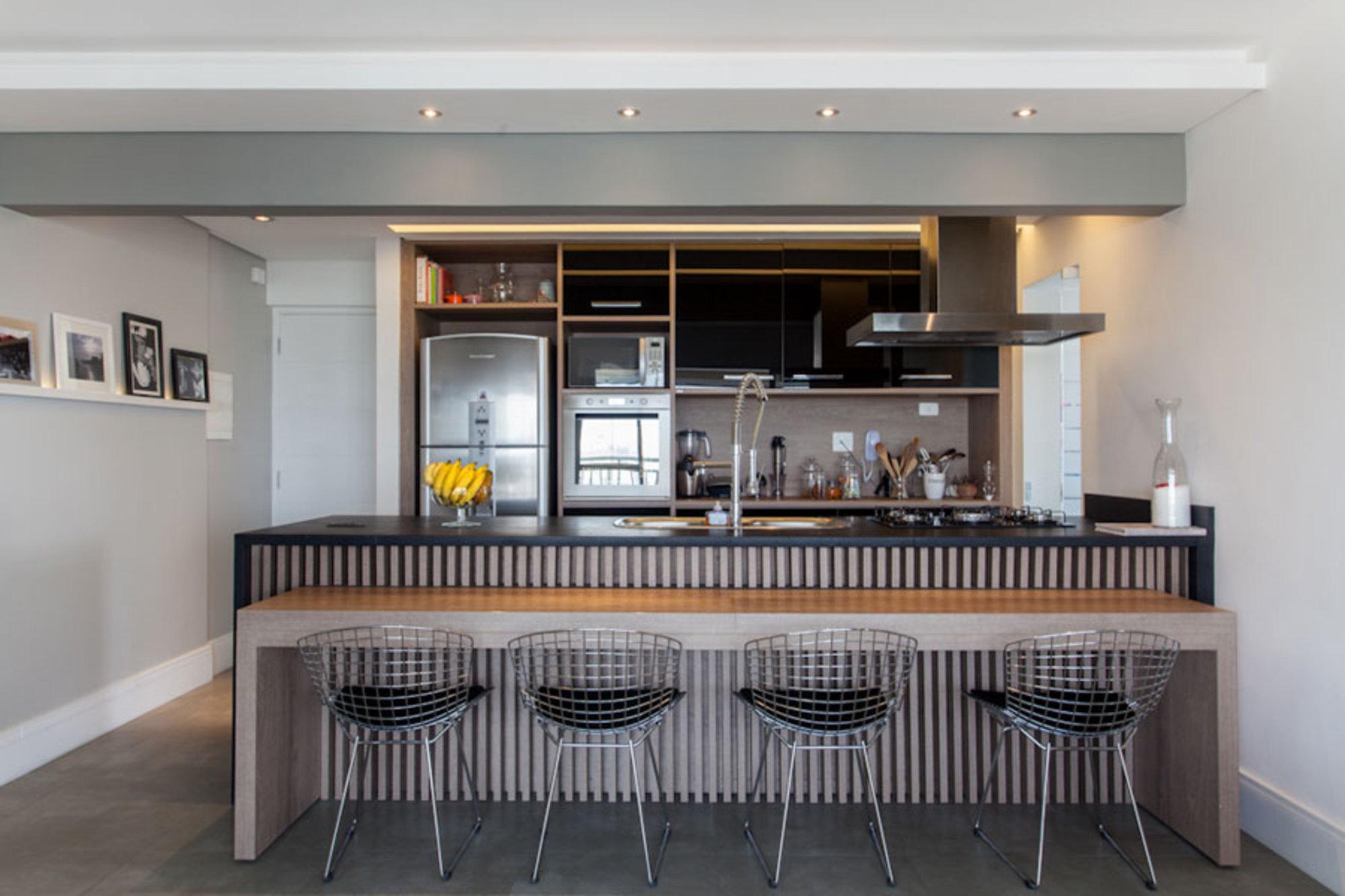 Moveis Planejados Cozinha Americana Pequena Apartamento Great