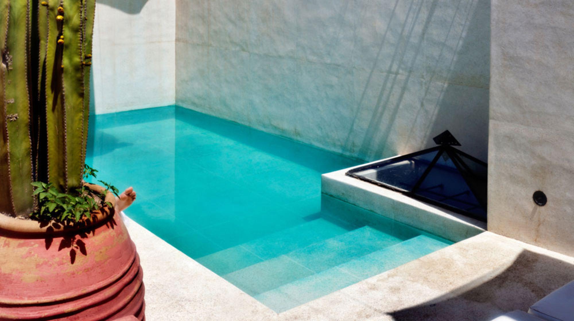 Vamos para marrakech casa de valentina for Piscinas de obra pequenas