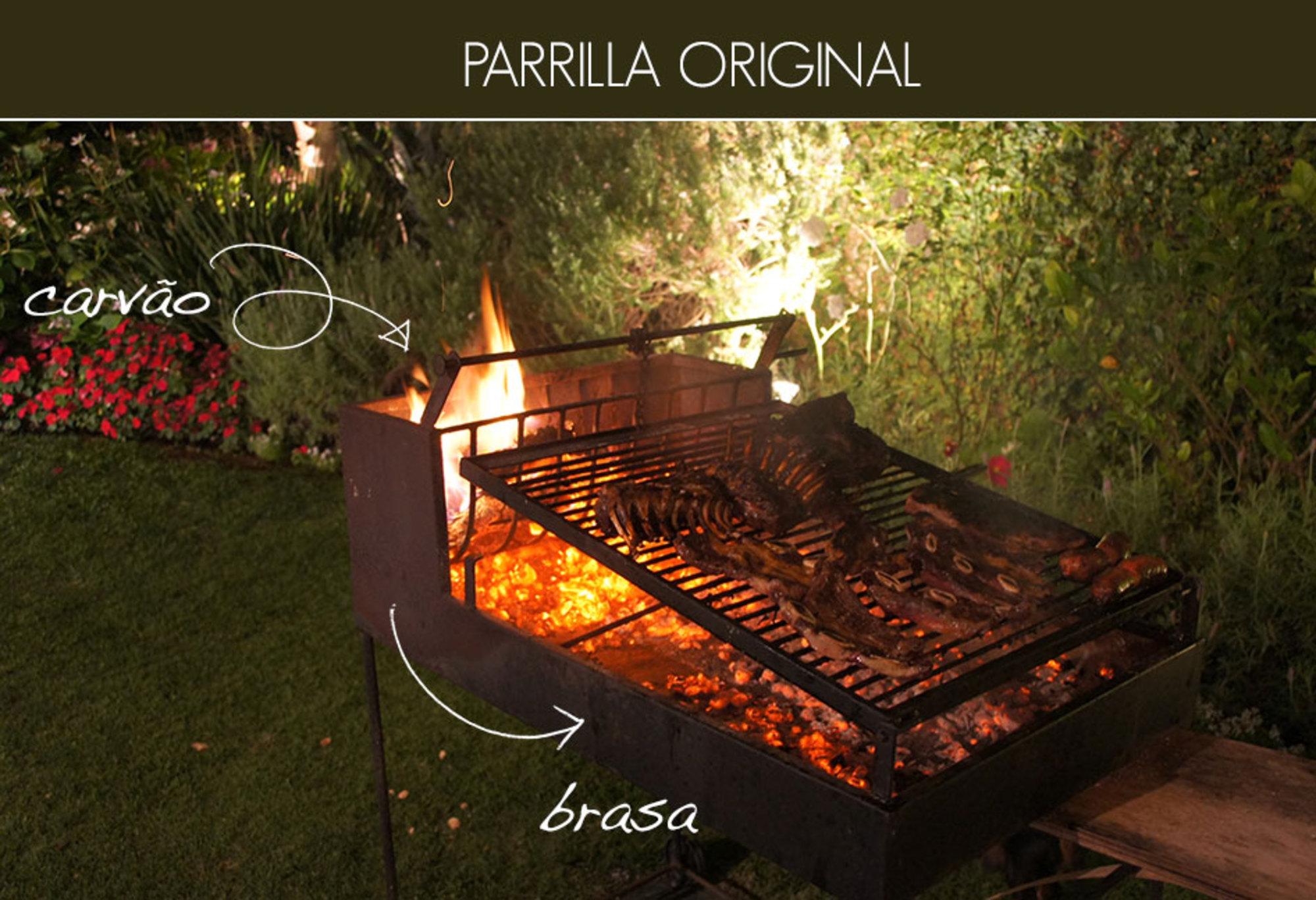 Parrilla argentina casa de valentina for Parrilla para la casa