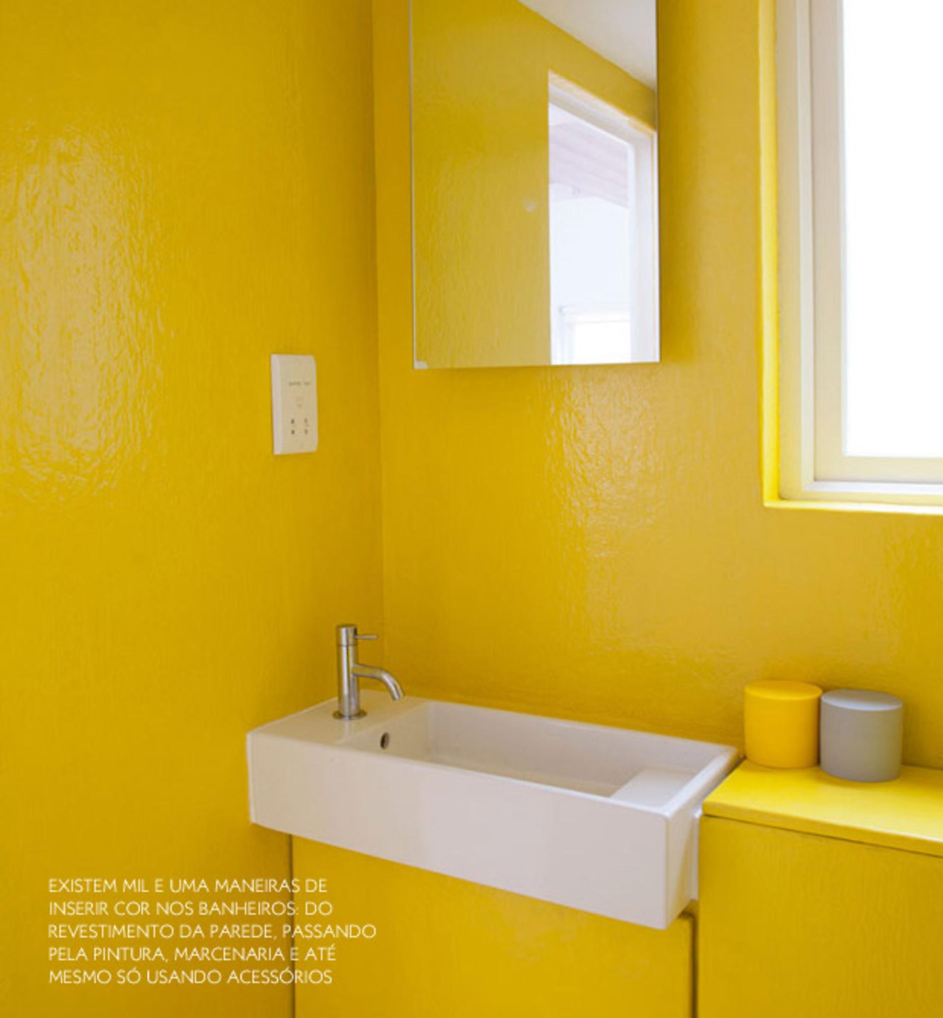 BANHEIROS COLORIDOS Casa de Valentina #C49A07 1851x2000 Banheiro Azulejo Ou Tinta