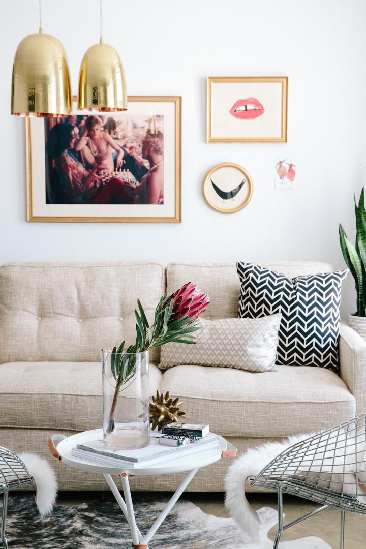 Decoração de escritório, sala de estar