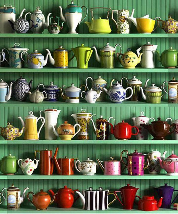 Chá da tarde, Bule de chá