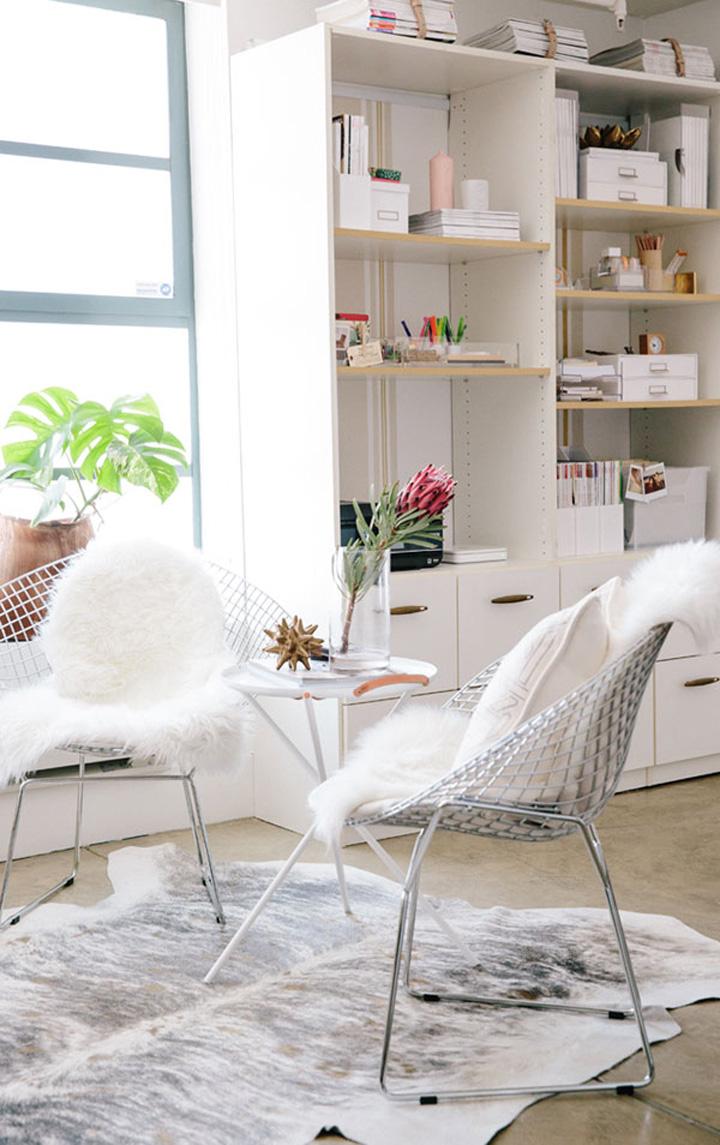Decoração de escritório, cadeiras