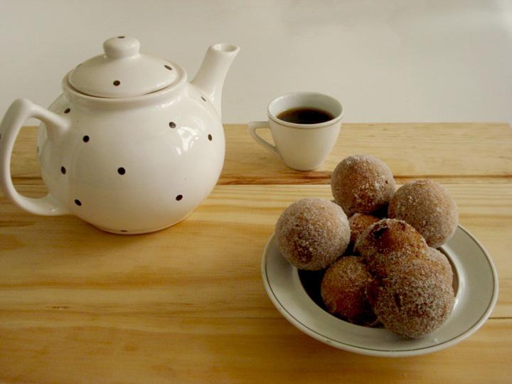 Chá da tarde, Jogo de chá de porcelana