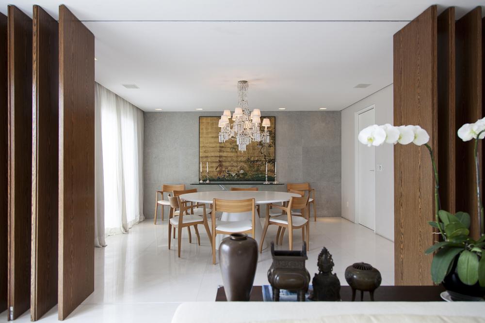 Sala de jantar; Candelabro cristal; Casa de Valentina