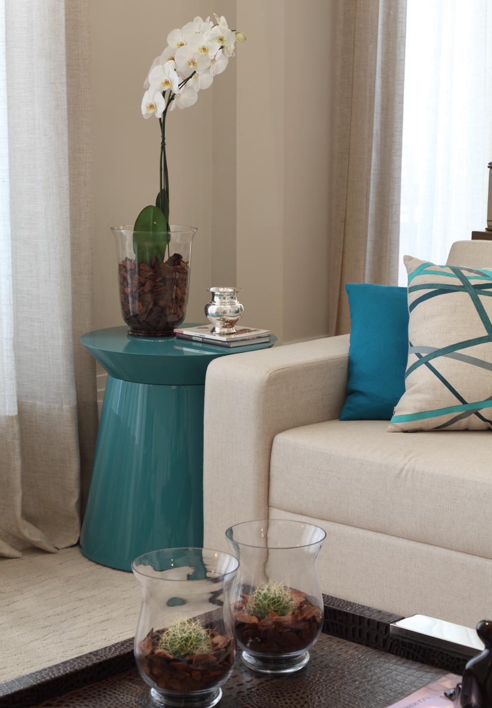 Com Vista Para O Parque Casa De Valentina ~ Escritorio No Quarto De Casal E Quarto Casal Azul Tiffany