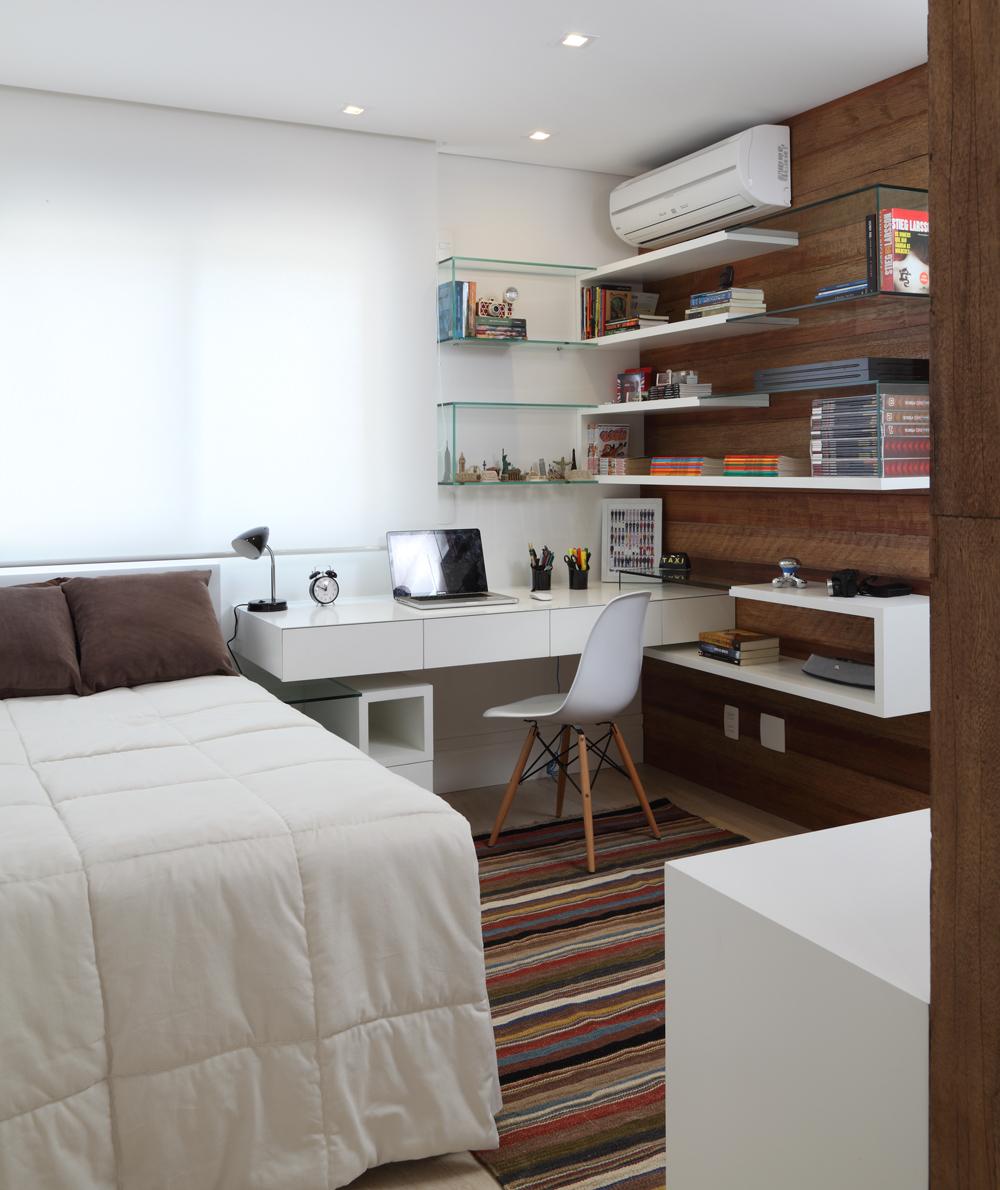 Com Vista Para O Parque Casa De Valentina ~ Home Office No Quarto De Solteiro