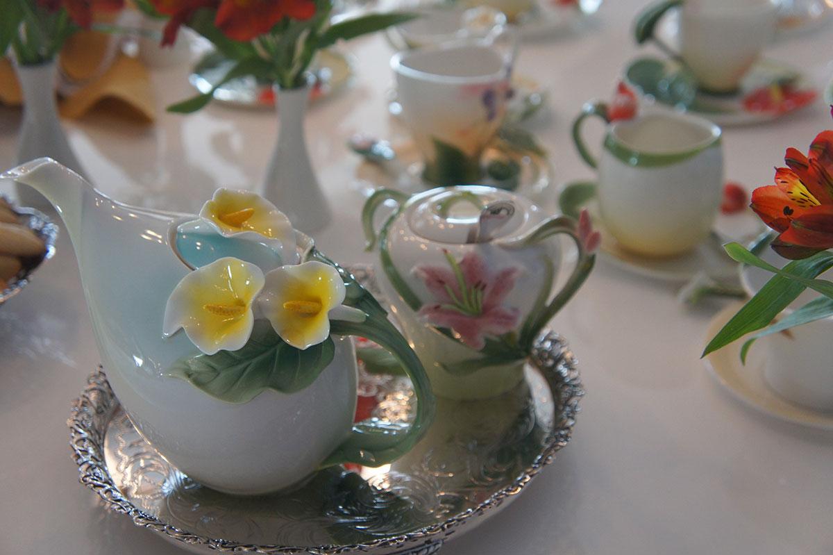 Mesa chá da tarde