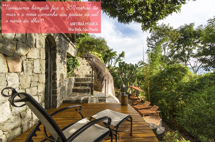 Decoração de: Varanda; deck de pedra; Casa de Valentina