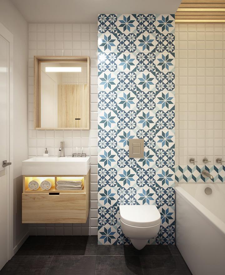Dicas para um banheiro bem decorado casa de valentina for Funky bathroom wallpaper ideas