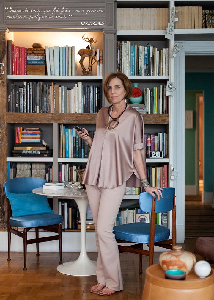 Decoração de: Detalhes; cadeiras vintage azuis; Casa de Valentina