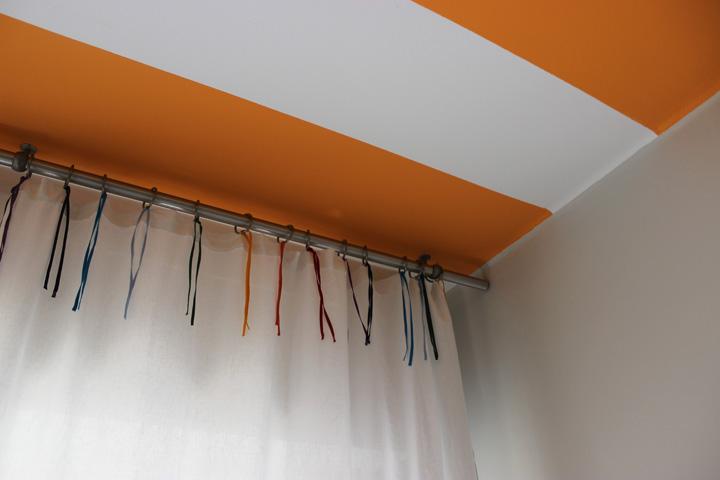 Decoração de: Detalhes; teto pintado; Casa de Valentina