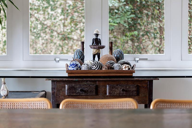 Decoração de: Detalhes; esferas decorativas; Casa de Valentina