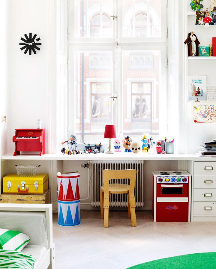 Decoração de: Detalhes; cadeira infantil; Casa de Valentina