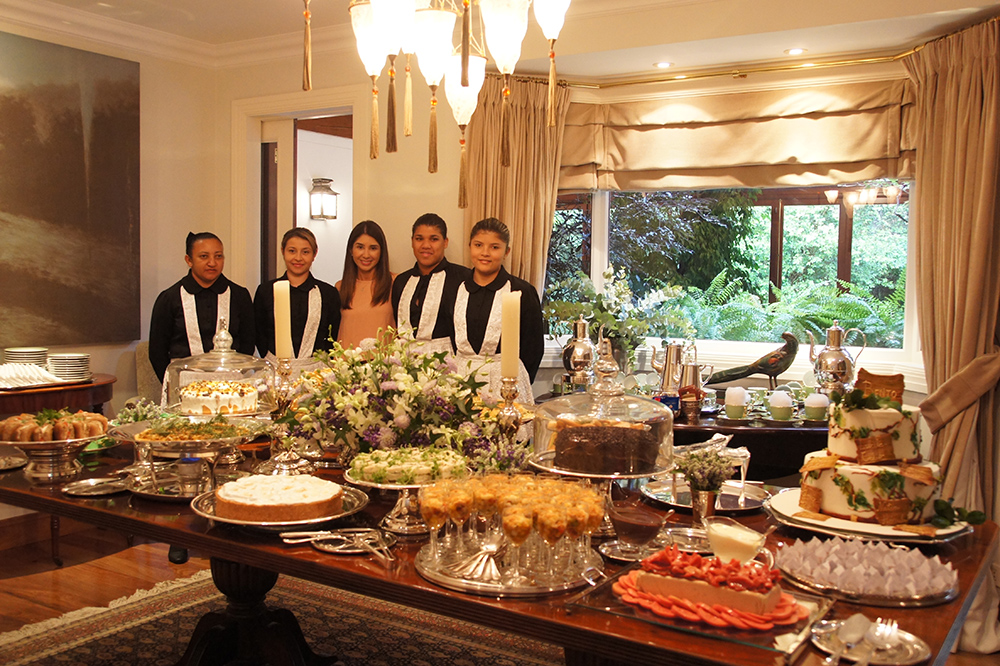 Decoração de chá da tarde - Buffet Zest