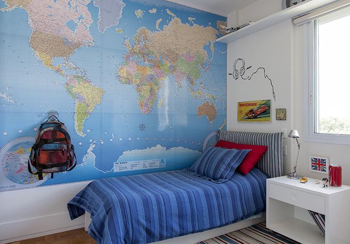 Open house elisa e paul casa de valentina - Papel pared mapa mundi ...