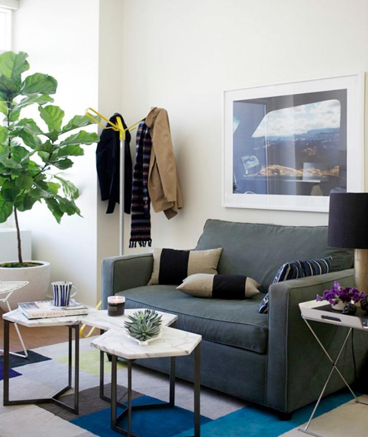 Decoração de: Sala de estar; mesa de centro modular; Casa de Valentina