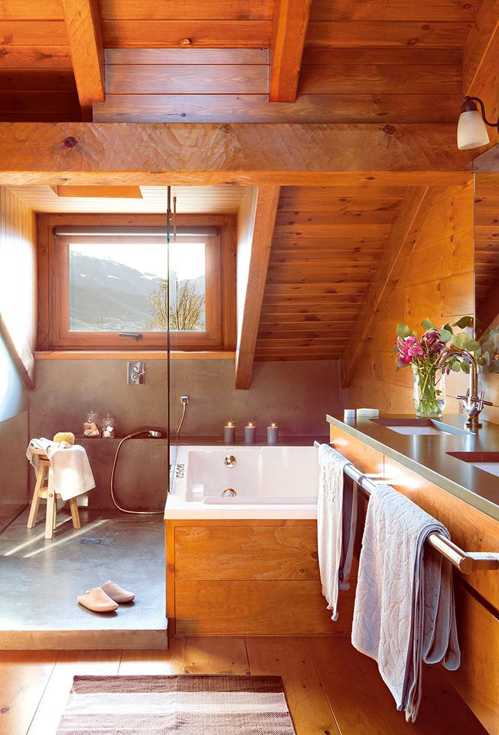 Com a cara do outono casa de valentina - Habitacion de madera ...