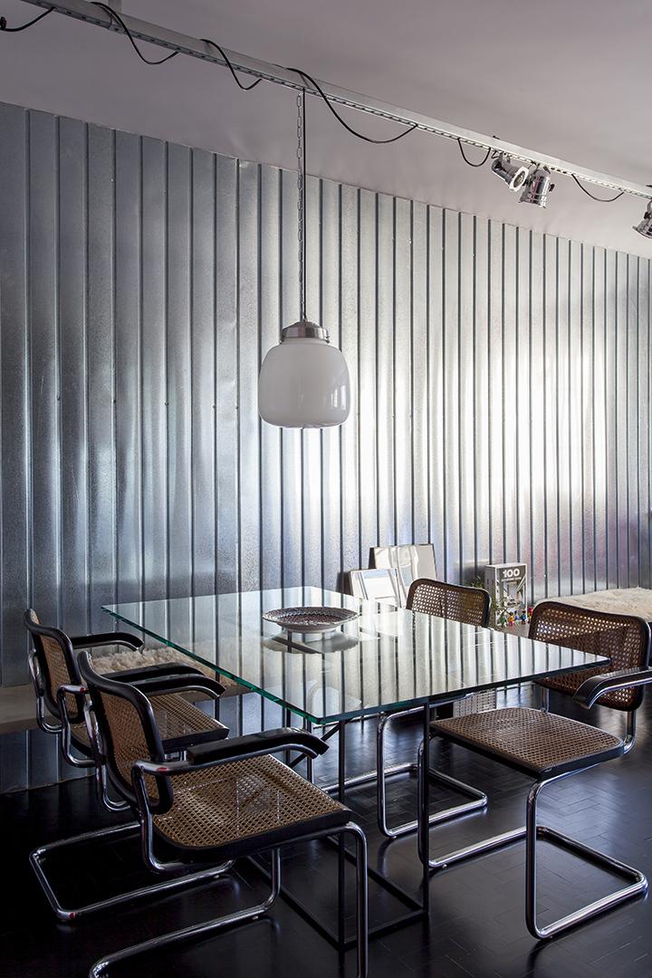 Decoração de: Sala de jantar; cadeira vintage; Casa de Valentina