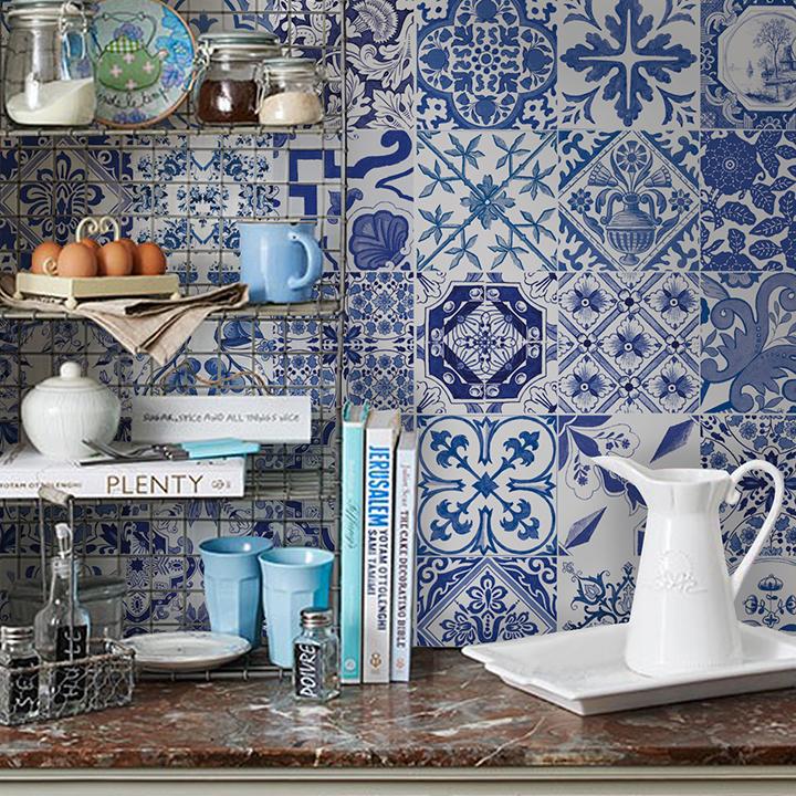 Decoração de: Detalhes ; adesivos para azulejo; Casa de Valentina