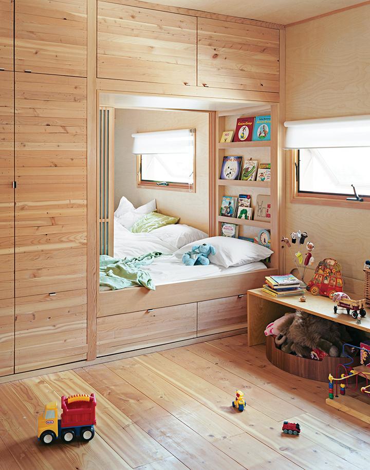 Decora o de quarto infantil camas embutidas casa de for Armarios para habitaciones infantiles