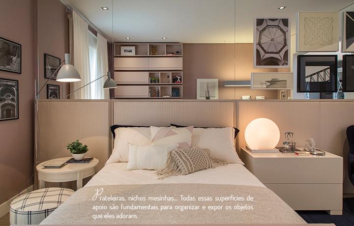 Decoração de: Quarto de solteiro; roupa ade cama branca; Casa de Valentina