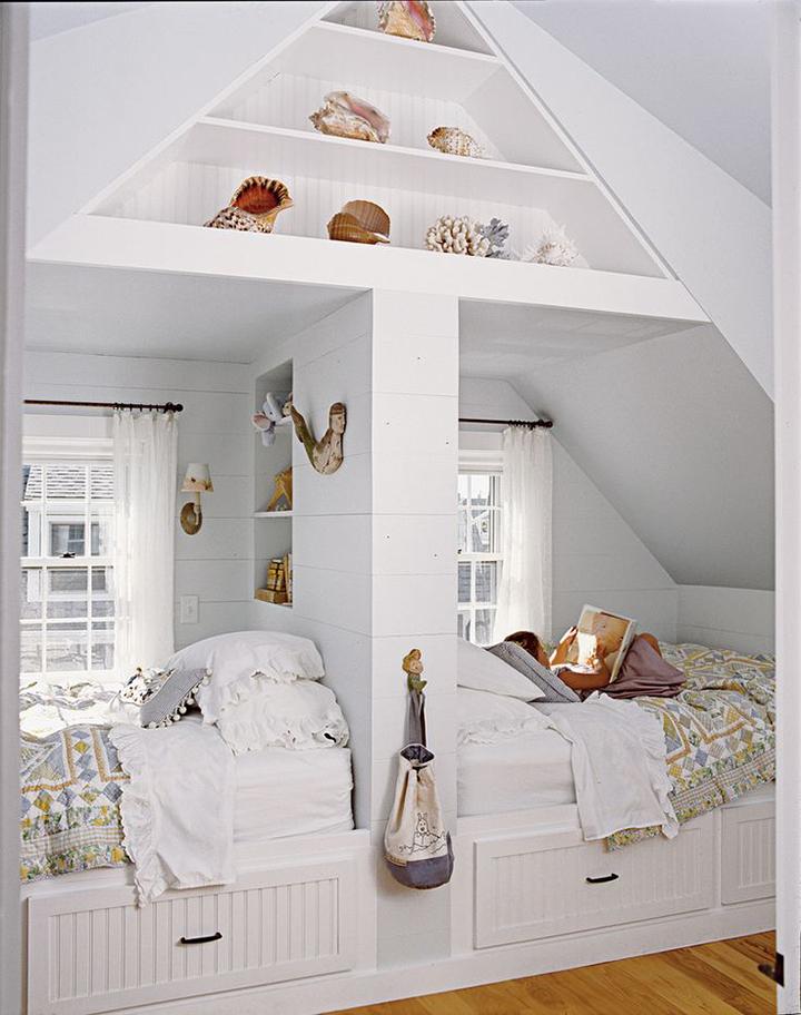 Decoração de: Quarto de criança; luminária com cúpula de parede; Casa de Valentina