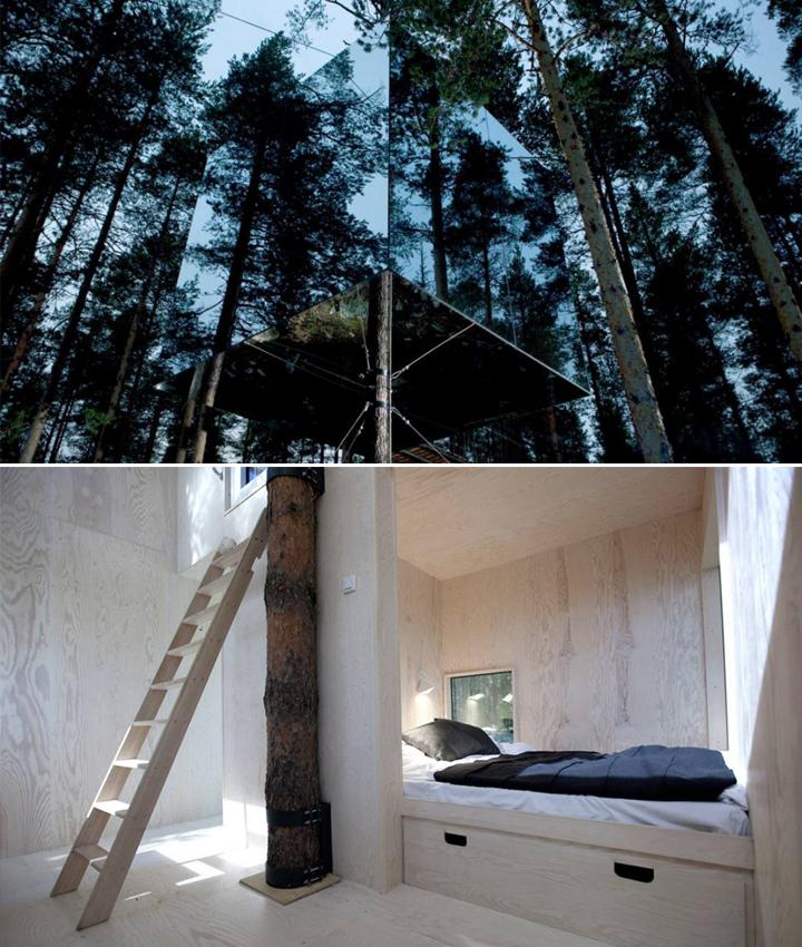 Decoração de: casa na árvore; Casa de Valentina