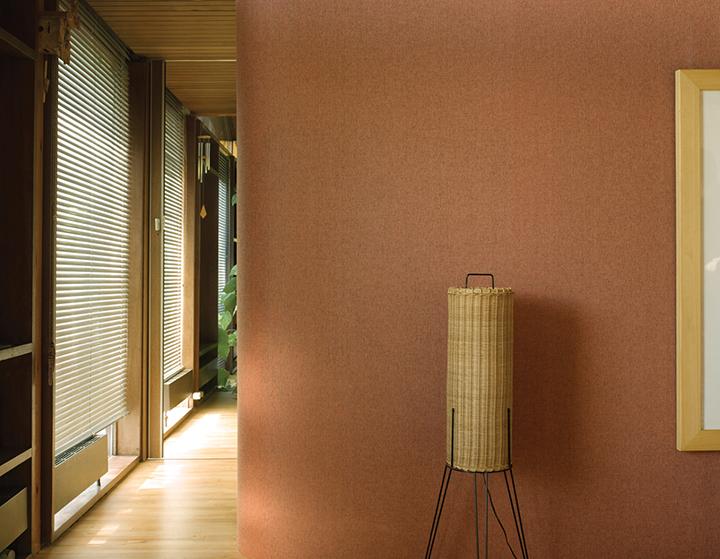 Decoração de: Detalhes; luminária de fibra natural; Casa de Valentina