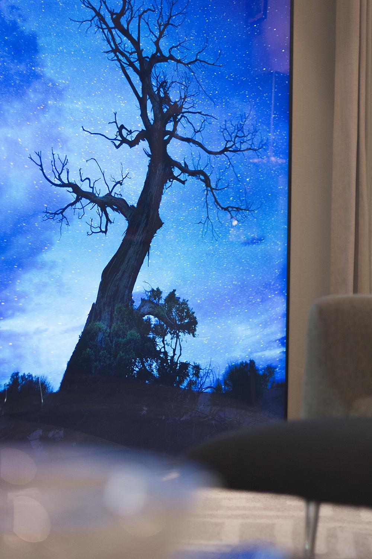 Decoração de: Detalhes; painél fotográfico iluminado; Casa de Valentina