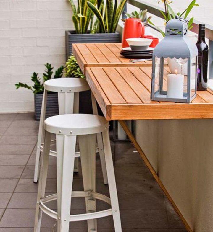 Decoração de: Detalhes; mesa dobrável; Casa de Valentina