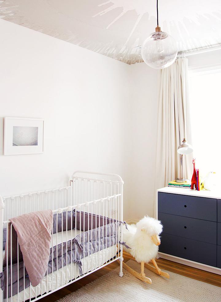 Decoração de: Quarto de bebê; banco ovelha; Casa de Valentina