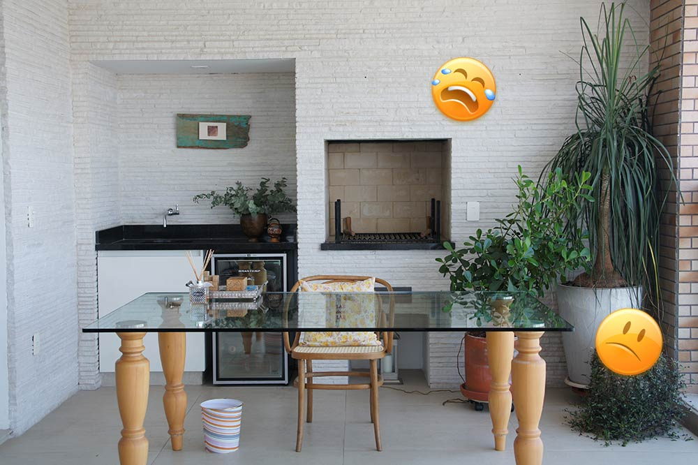 Decoração de: varanda de apartamento