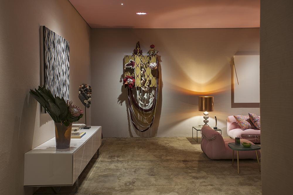 Decoração de: Detalhes; obras de arte e esculturas; Casa de Valentina